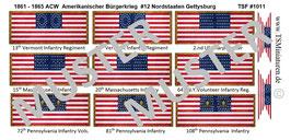 1:72 ACW #12 Nordstaaten Gettysburg