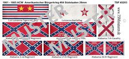 28mm American Civil War #04 Südstaaten