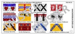 1:72 Mittelalter 100 Jähriger Krieg #13 Otterburn Schottische Ritter