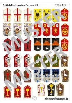Mittelalter Hussiten Pavesen # 01