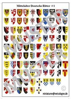 1:72 Mittelalter Deutsche Ritter #01