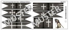 28mm Kreuzzüge #14 Orden der Malteser (gealtert)