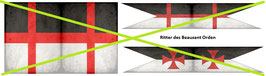 1:32 Flags Kreuzzüge #04 Beausant