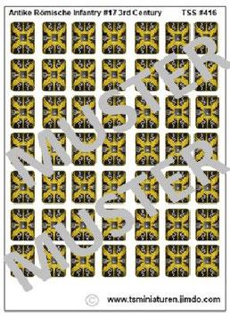 1:72 Schilde Römische Infanterie #17