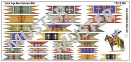 1:72 Dark Age Fahnen Normann Banners #04