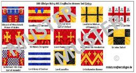 1:72 Mittelalter 100 Jähriger Krieg #01 Crécy Englische Ritter