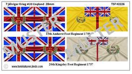 28mm 7 Jähriger Krieg #20 England