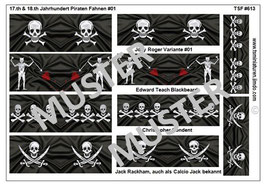 1:72 Piraten Schiffsbanner #01