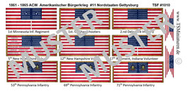 1:72 ACW #11 Nordstaaten Gettysburg