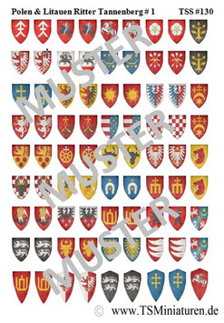 1:72 Mittelalter Litauen & Polen Ritter #01