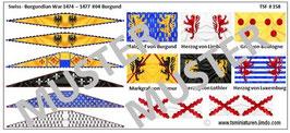 1:72 Mittelalter Swiss Burgundian War #04 Burgunder Ritter
