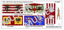 28mm 30 Years of War #06 Saxony Infanterie