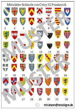 1:72 Mittelalter Französische Ritter für Crecy #02