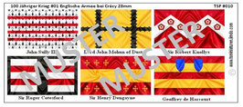 28mm Mittelalter Die Schlacht von Crécy #01 England