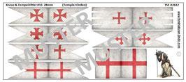 28mm Kreuzzüge #13 Templer Orden (gealtert)