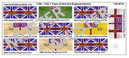 1:72 7 Jähriger Krieg #14 England
