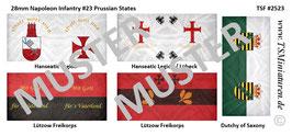 28mm Napoleonische Kriege #23 Prussian Staates