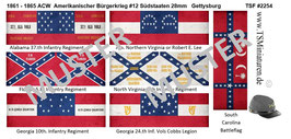 28mm American Civil War #12 Südstaaten Gettysburg