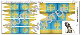 28mm Kreuzzüge #16 Orden Königreich Jerusalem (gealtert)