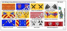 1:72 Mittelalter 100 Jähriger Krieg #08 Crécy Tschische Ritter
