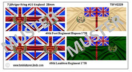 28mm 7 Jähriger Krieg #23 England
