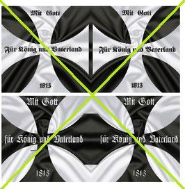 1:32 Flag Napoleon Preußen Infanterie #06