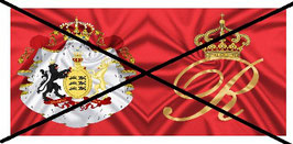 1:32 Flag Napoleon Württemberg Infanterie #02