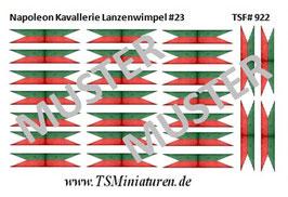 1:72 Napoleon Lanzenwimpel #23