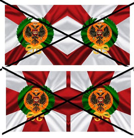 1:32 Flag Napoleon Russland Infanterie #07