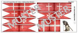 28mm Kreuzzüge #15 Orden der Johanniter (gealtert)