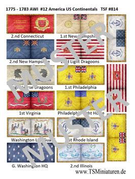 1:72 AWI Amerikanischer Unabhängigkeitskrieg #12 US Continentals Cavalry