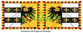 1:24 / 7cm Fahne für Landsknechte #01