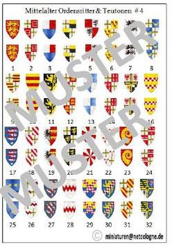 1:72 Mittelalter Teutonische Ritter #04 Hochmeister