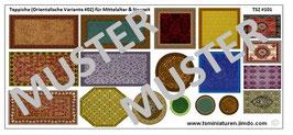 1:72 Mittelalter Muslim & Saracenen Teppiche #02