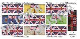 1:72 AWI Amerikanischer Unabhängigkeitskrieg #14 England