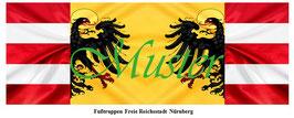 1:24 / 7cm Fahne für Landsknechte #04