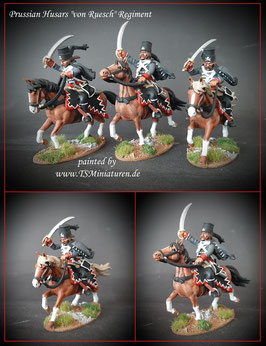 1:32 / 54mm Prussian Husars von Ruesch Regiment #01