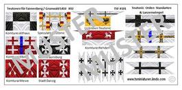 1:72 Mittelalter Teutonic Banner #02