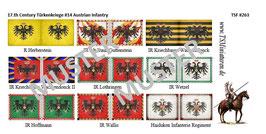 1:72 17.th Century #14 Austrian Infanterie
