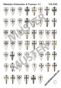 1:72 Mittelalter Teutonische Ritter #01