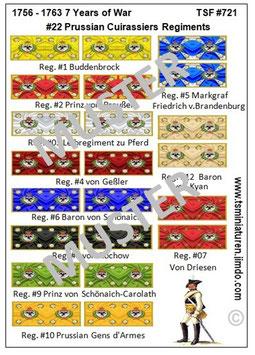 1:72 7 Jähriger Krieg #22 Preußen Kavallerie