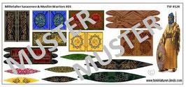 1:72 Mittelalter Saracenen & Muslim Warriors #03