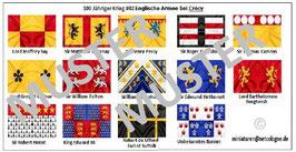 1:72 Mittelalter 100 Jähriger Krieg #02 Crécy Englische Ritter