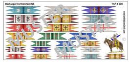 1:72 Dark Age Fahnen Normann Banners #06