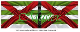 1:24 / 7cm Fahne für Landsknechte #19