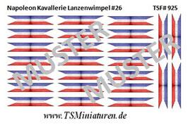 1:72 Napoleon Lanzenwimpel #26