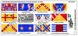 1:72 Mittelalter 100 Jähriger Krieg #07 Crécy Tschische Ritter