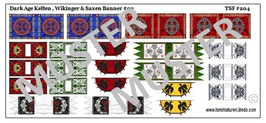1:72 Dark Age Fahnen Celtic & Viking Banners #02