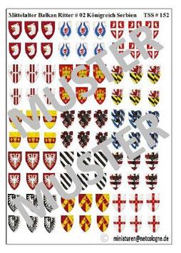 1:72 Mittelalter 13.th Century #02 Königreich Serbien