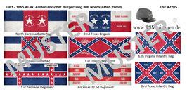 28mm American Civil War #06 Südstaaten